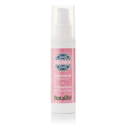 Възстановяващ крем за суха кожа с розово масло за лице