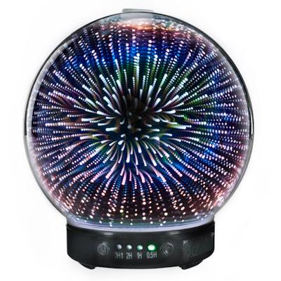 Стъклен 3D ултразвуков арома дифузер 1