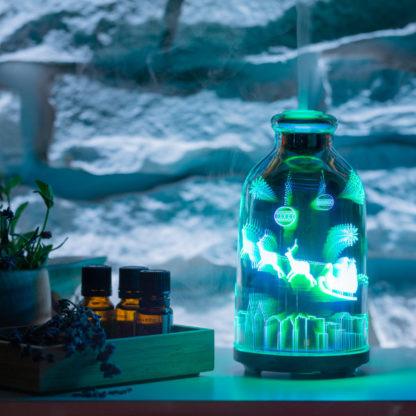 Арома дифузер 3D glass Santa Claus 3