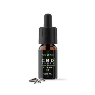 CBD Конопено масло 7 % с витамин Е 10 мл с пипета