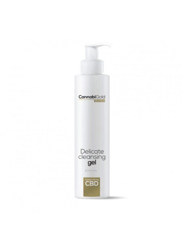 CBD измиващ гел за вежди за всеки вид кожа